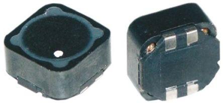 Wurth Elektronik Wurth, WE-DD, 1260 Shielded Wire-wound SMD Inductor with a Ferrite Core, 22 μH ±20% Dual 3A Idc