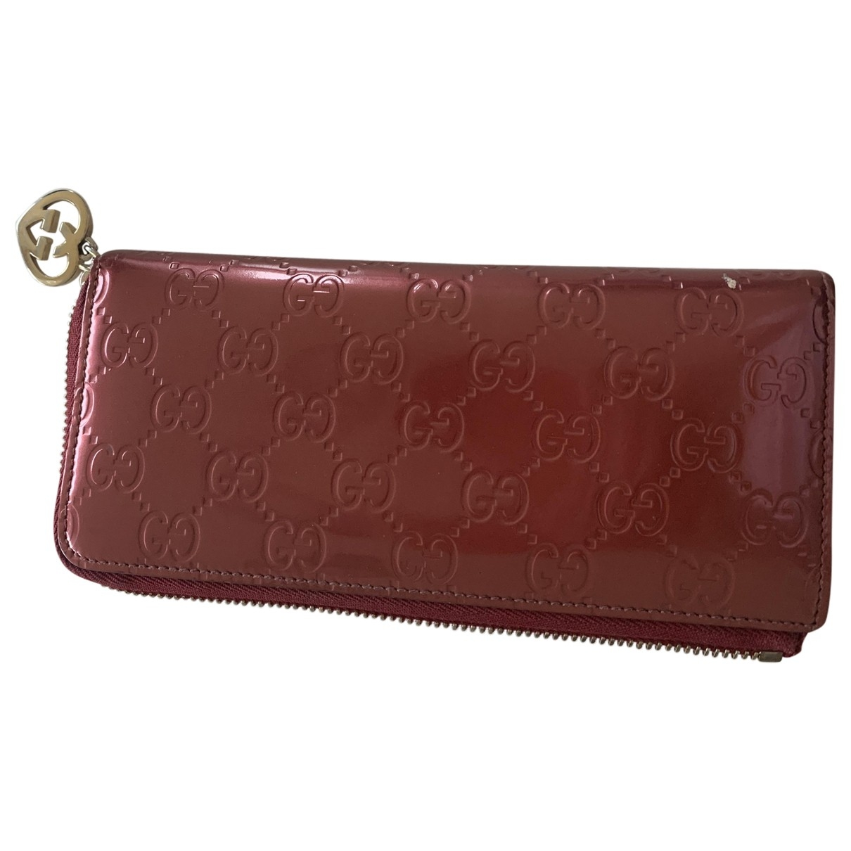 Gucci \N Pink Patent leather wallet for Women \N