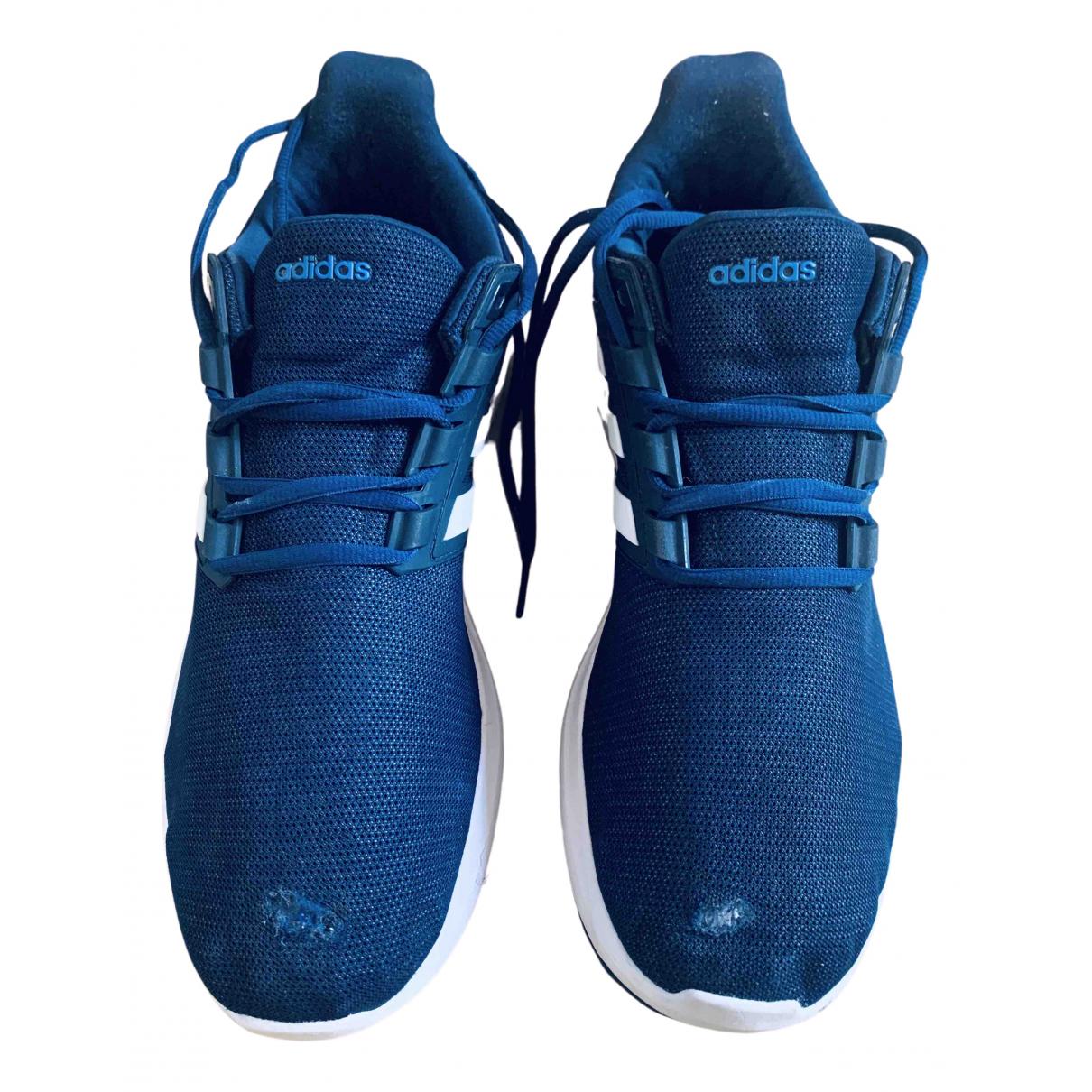 Adidas \N Sneakers in  Blau Leinen