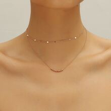 1pc Minimalist Layered Necklace