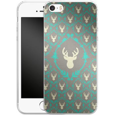 Apple iPhone 5s Silikon Handyhuelle - Oh Deer von Bianca Green