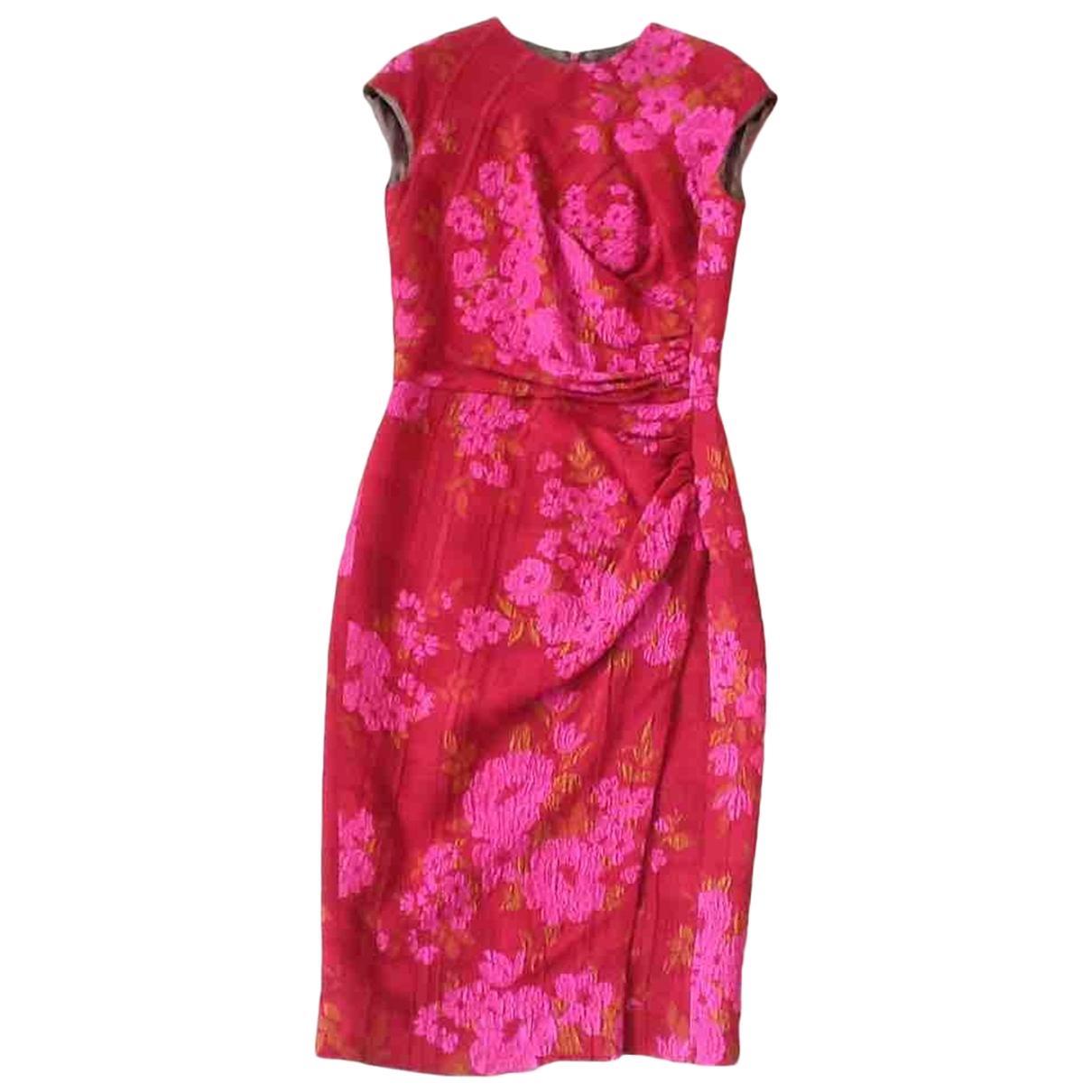 Etro - Robe   pour femme en laine - rouge