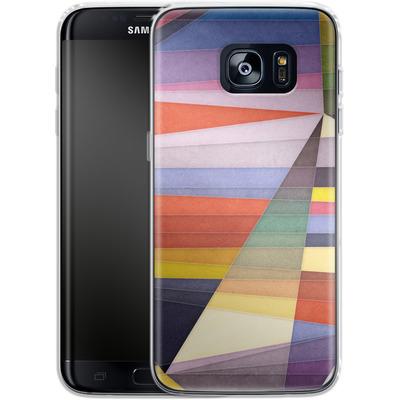 Samsung Galaxy S7 Edge Silikon Handyhuelle - You Were Trying Too Hard von Georgiana Teseleanu
