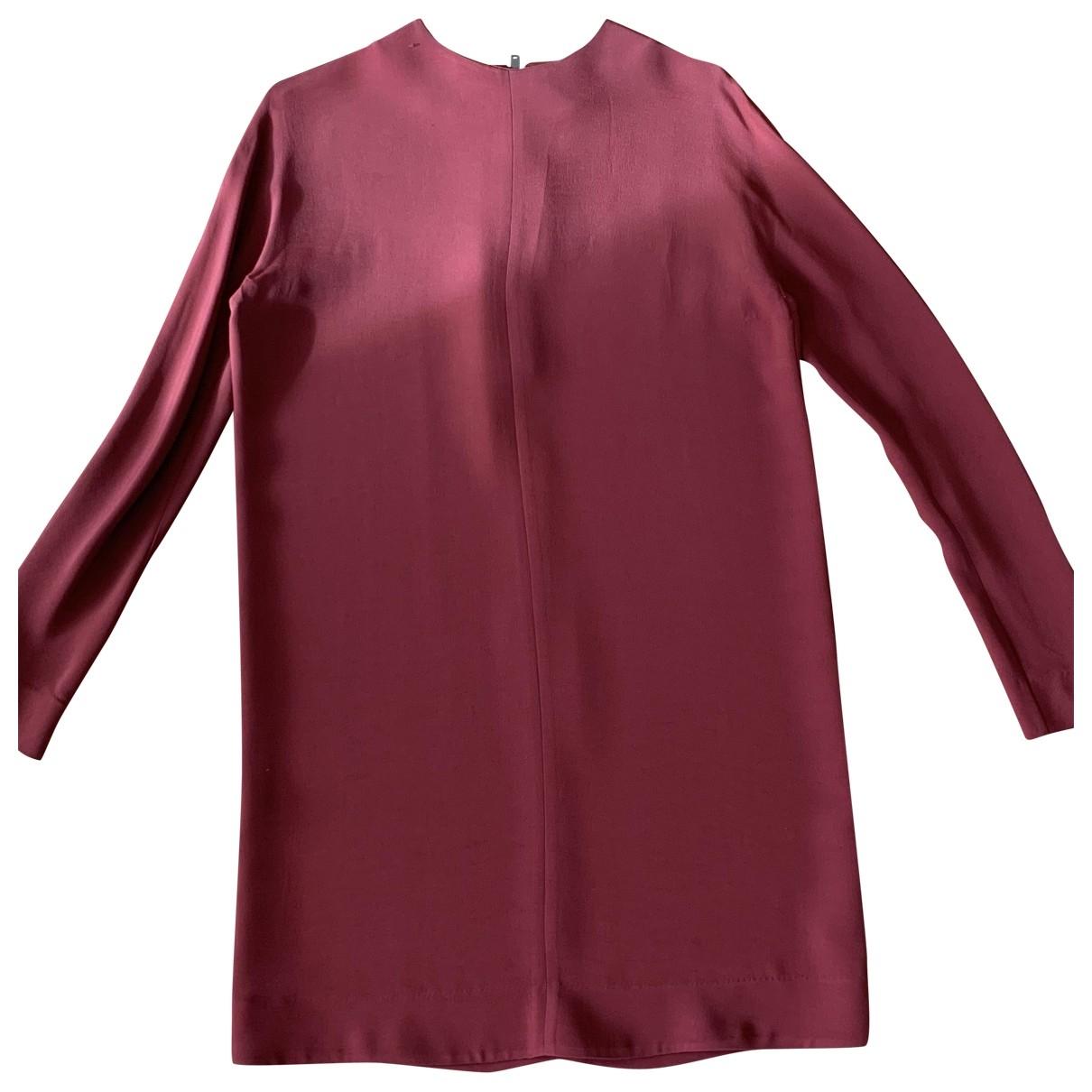 Cos - Robe   pour femme - bordeaux
