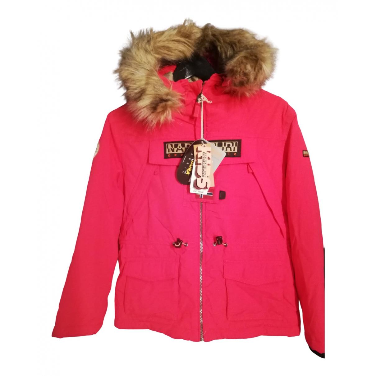 Napapijri - Blousons.Manteaux   pour enfant - rose