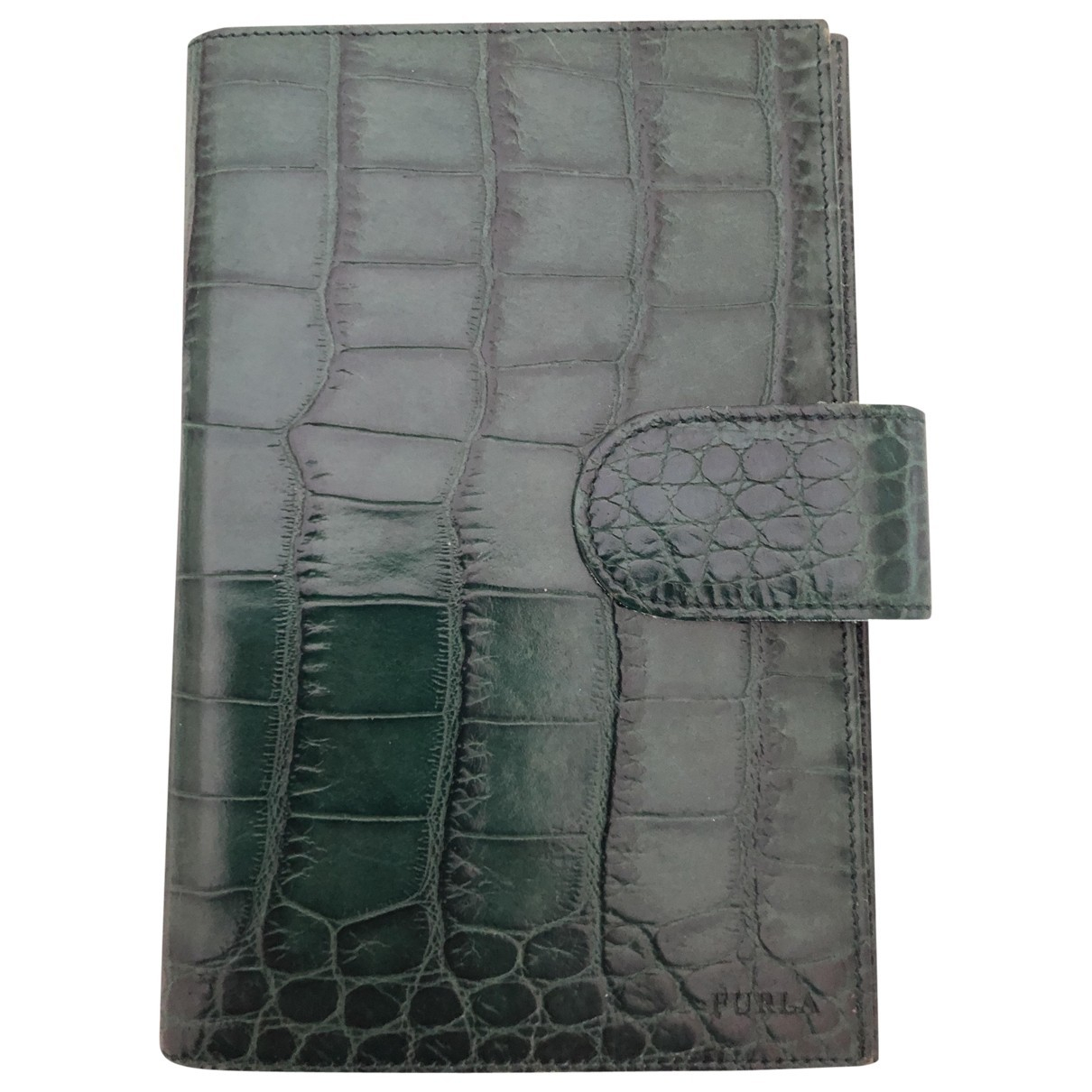 Furla \N Green Leather Purses, wallet & cases for Women \N