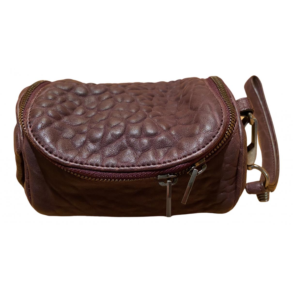 Alexander Wang \N Handtasche in  Lila Leder