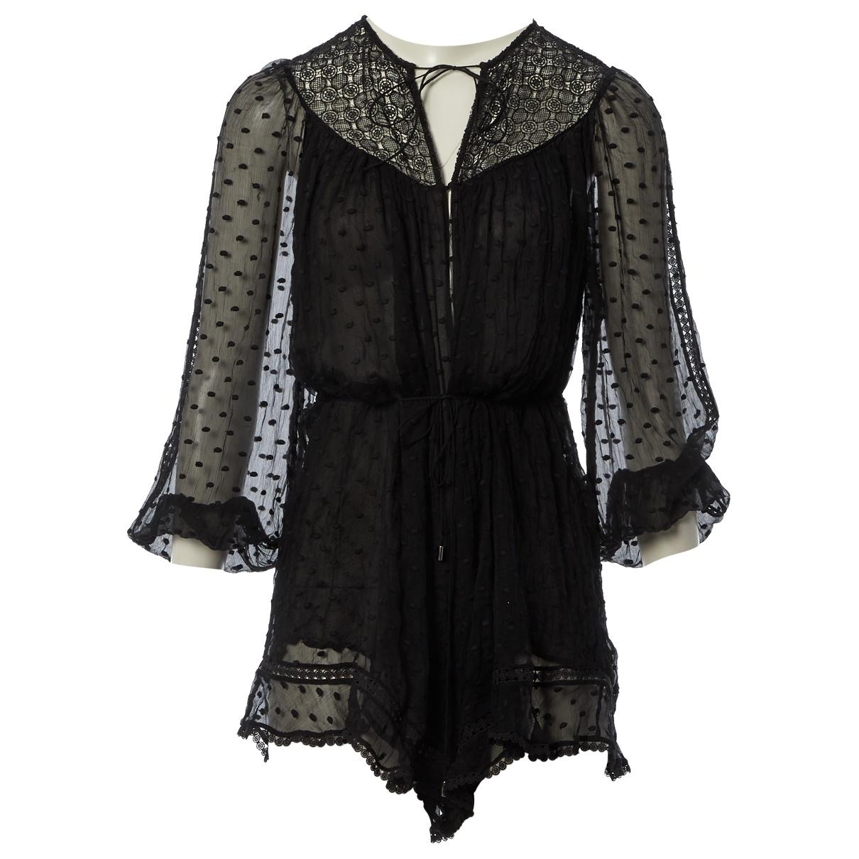 Zimmermann - Combinaison   pour femme en soie - noir