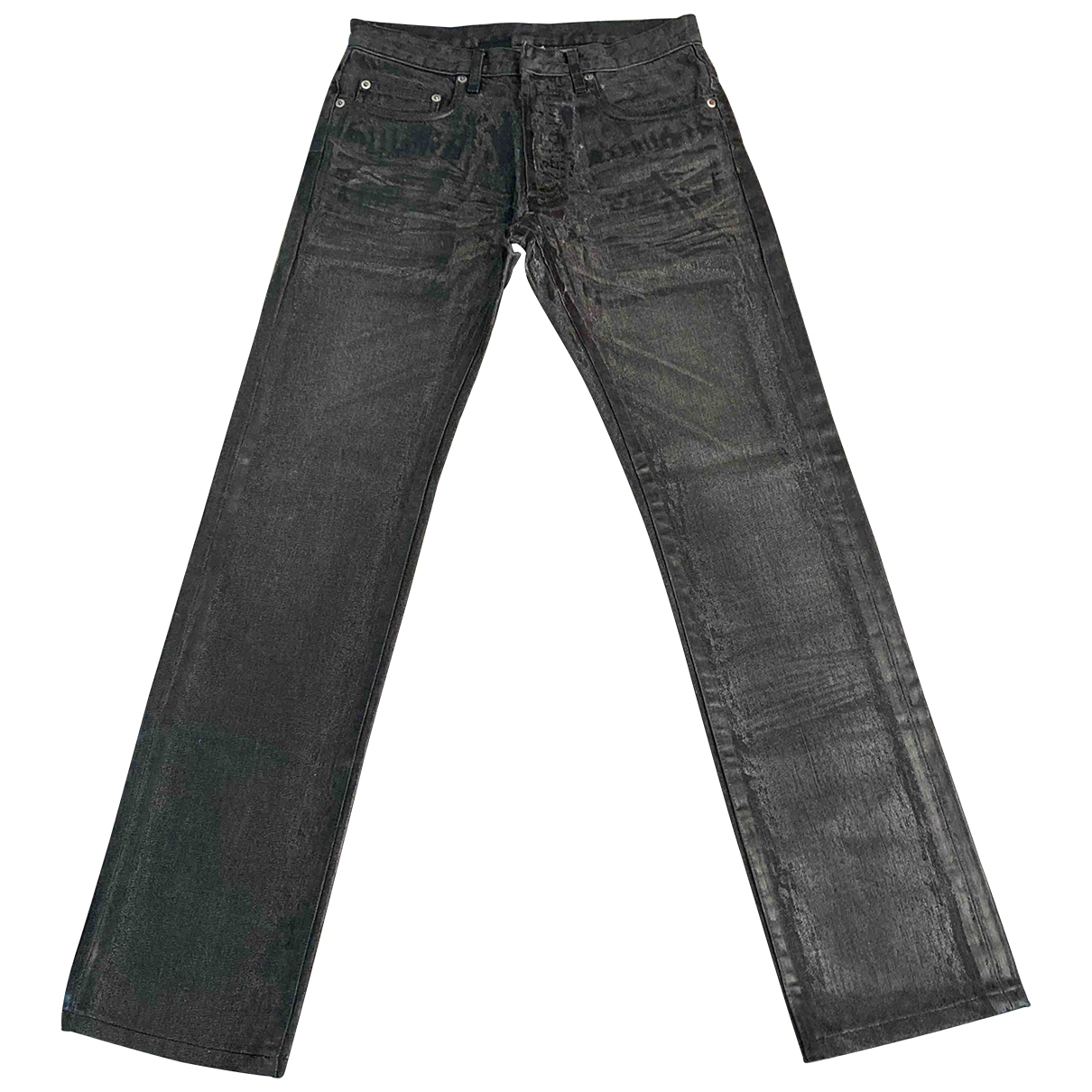 Dior Homme \N Grey Cotton Jeans for Men 27 US
