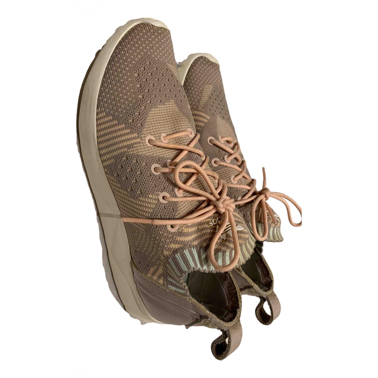 Adidas - Baskets   pour femme en toile - rose