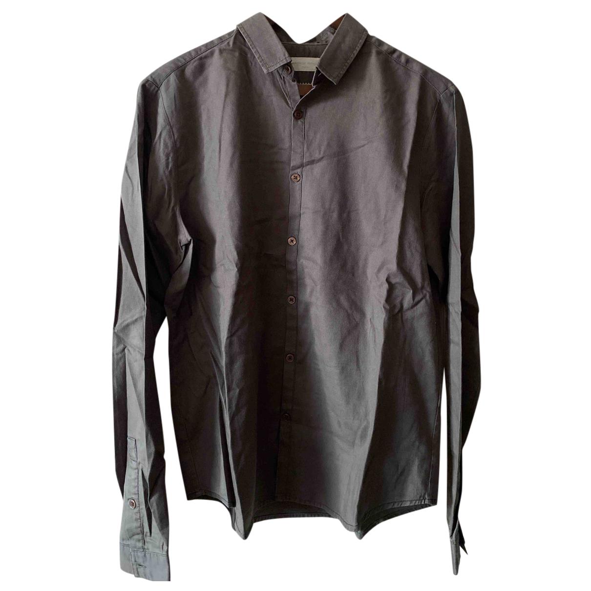 American Vintage N Khaki Cotton Shirts for Men S International