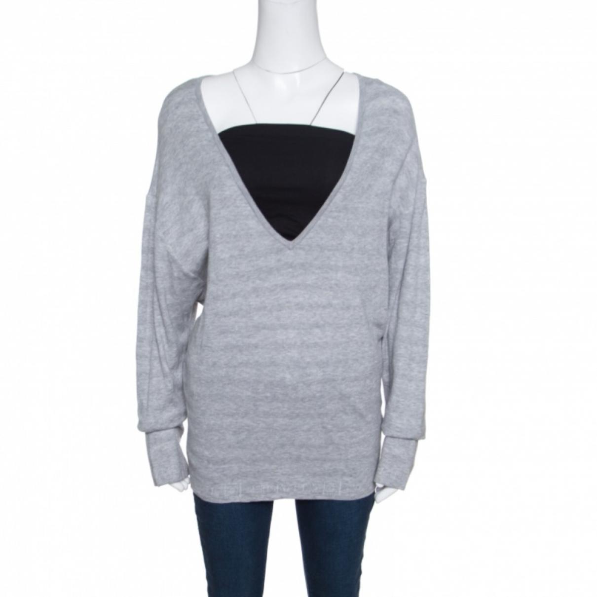 Chanel \N Grey Cotton Knitwear for Women M International