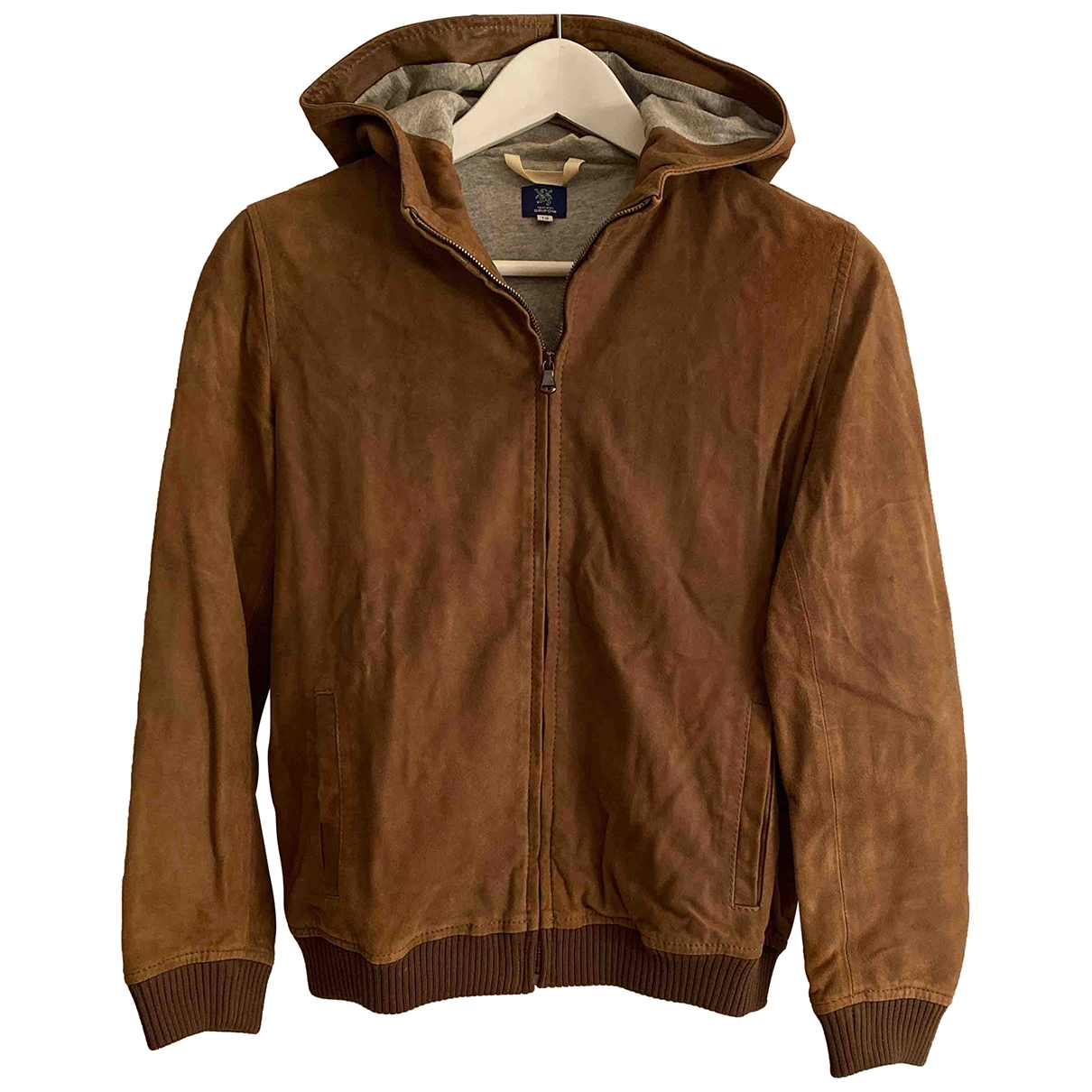 Mauro Grifoni \N Brown Leather jacket & coat for Kids 12 years - XS UK