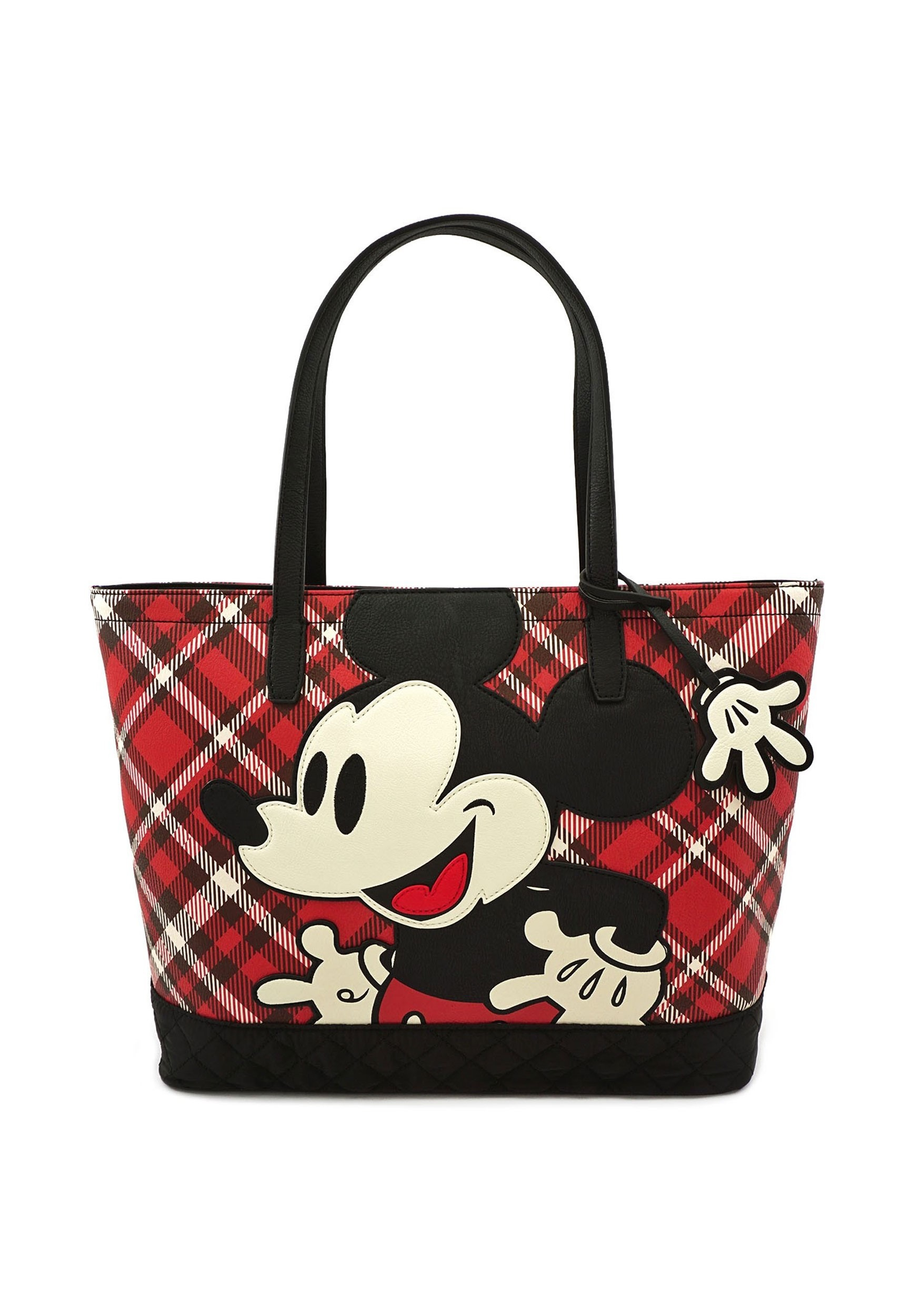 Disney Mickey Mouse Twill Tote By Loungefly