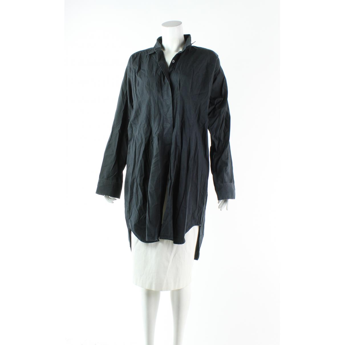 Dries Van Noten - Robe   pour femme en coton - noir