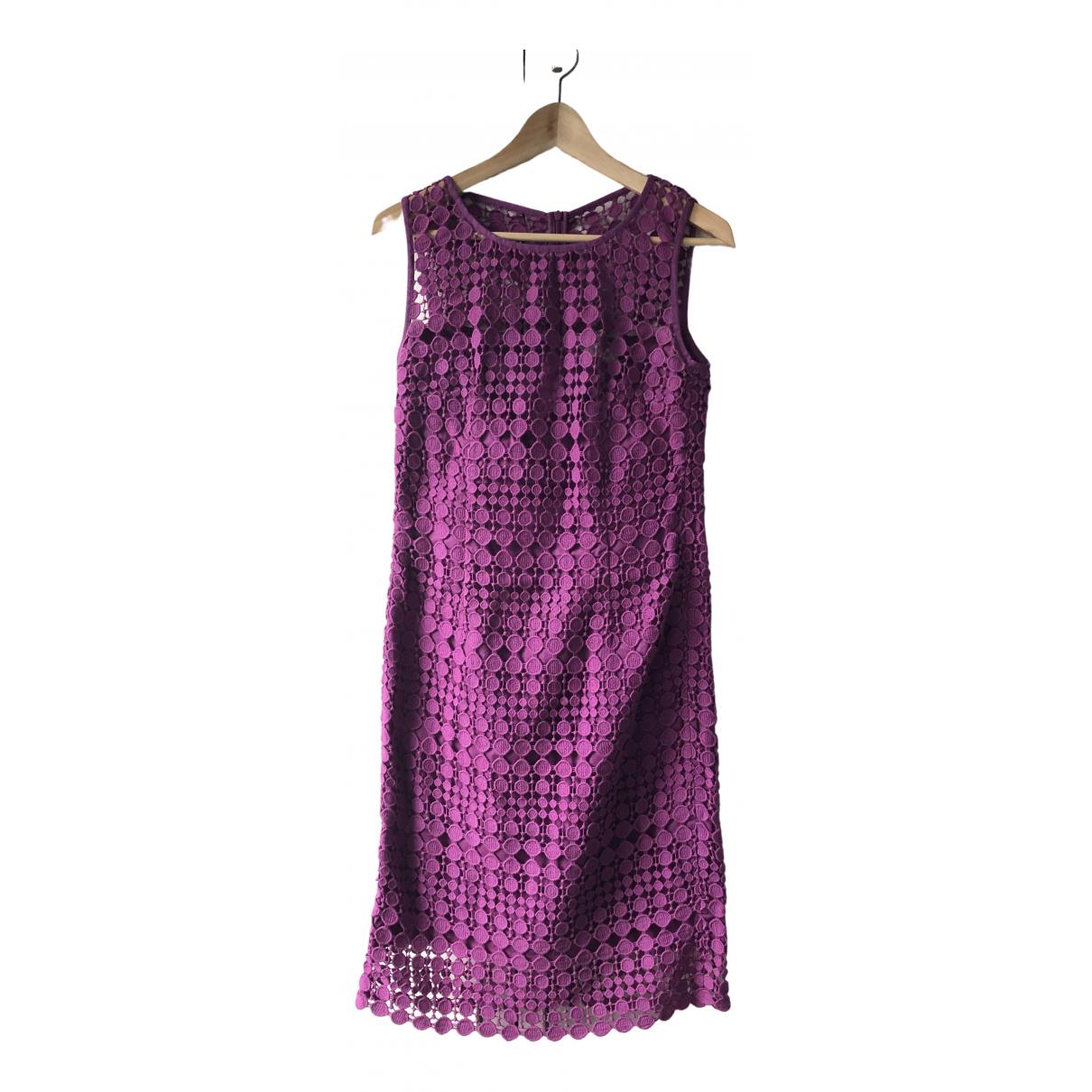 Max Mara Weekend - Robe   pour femme en coton - violet