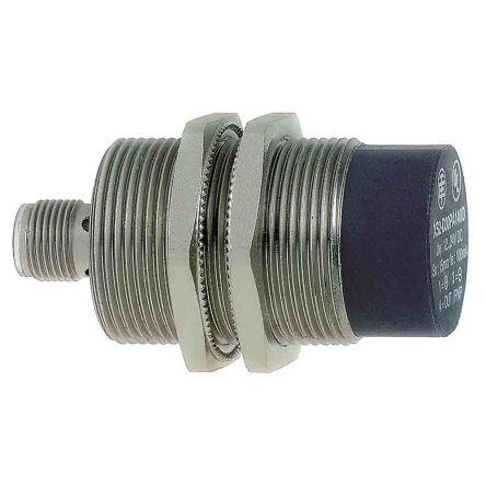 Telemecanique Sensors M30 x 1.5 Inductive Sensor - Barrel, NPN-NO, PNP-NC Output, 22 mm Detection, IP67, IP69K, M12 - 4 Pin Terminal