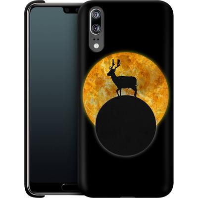 Huawei P20 Smartphone Huelle - Deer on the Moon von Barruf