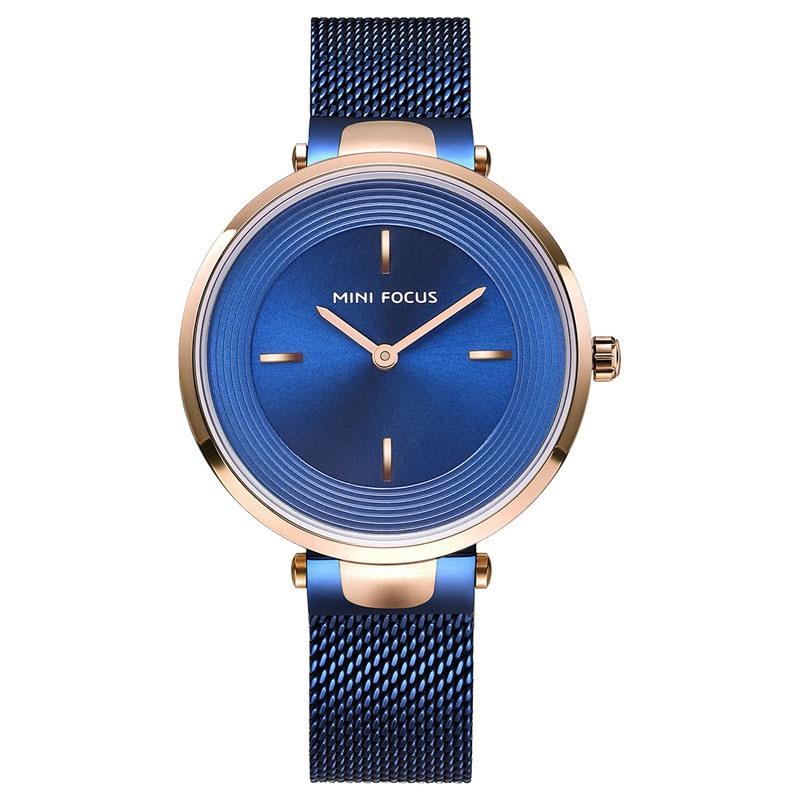Ericdress Quartz Waterproof Steel Belt Watch For Women