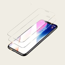 2pcs iPhone Screen Protection Tempered Glass Film