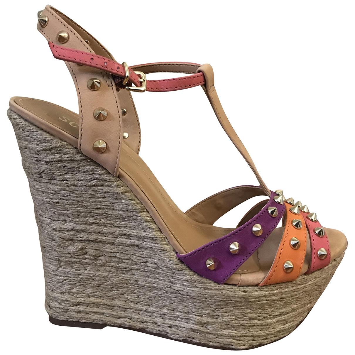 Schutz \N Sandalen in  Bunt Lackleder
