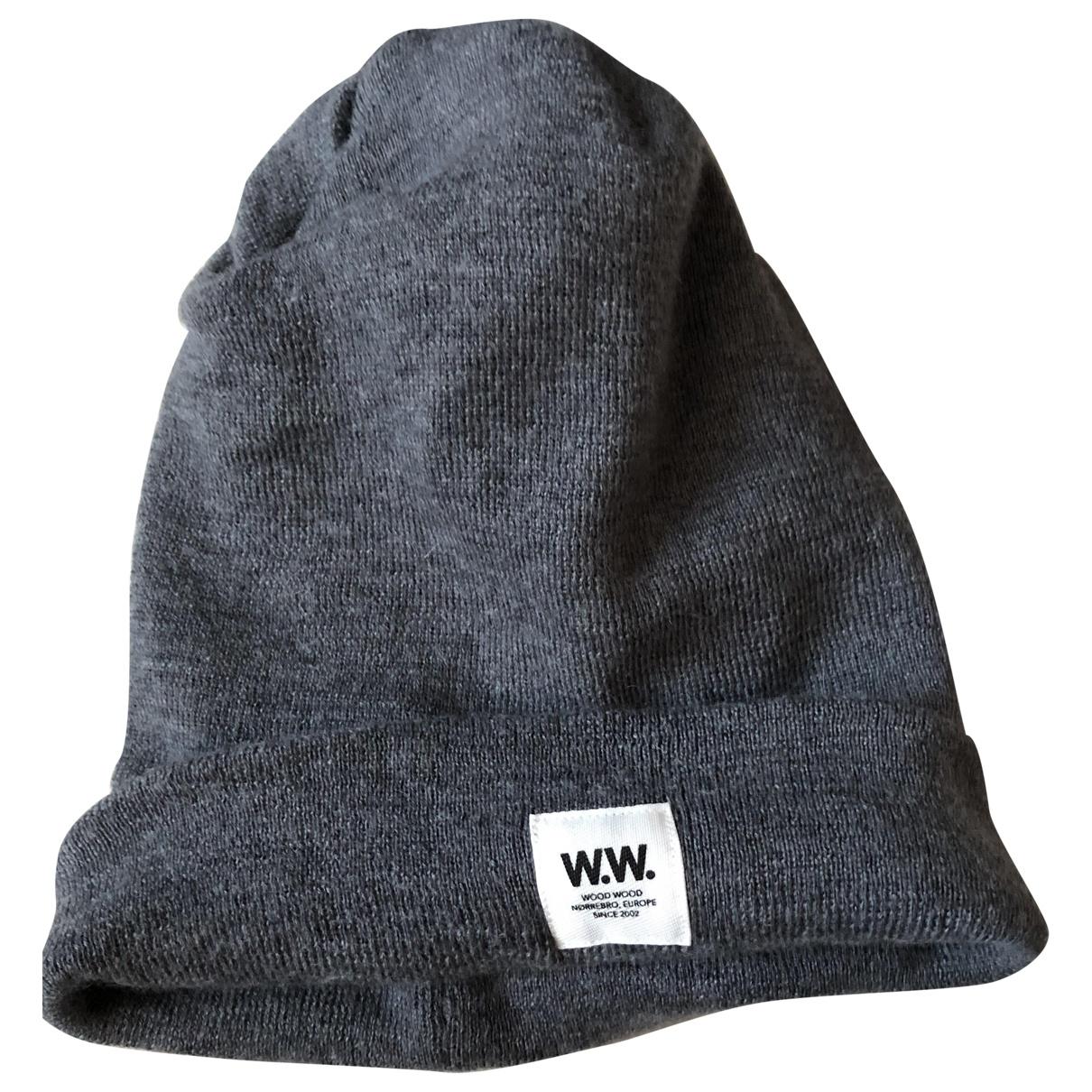 Sombrero / gorro de Lana Wood Wood