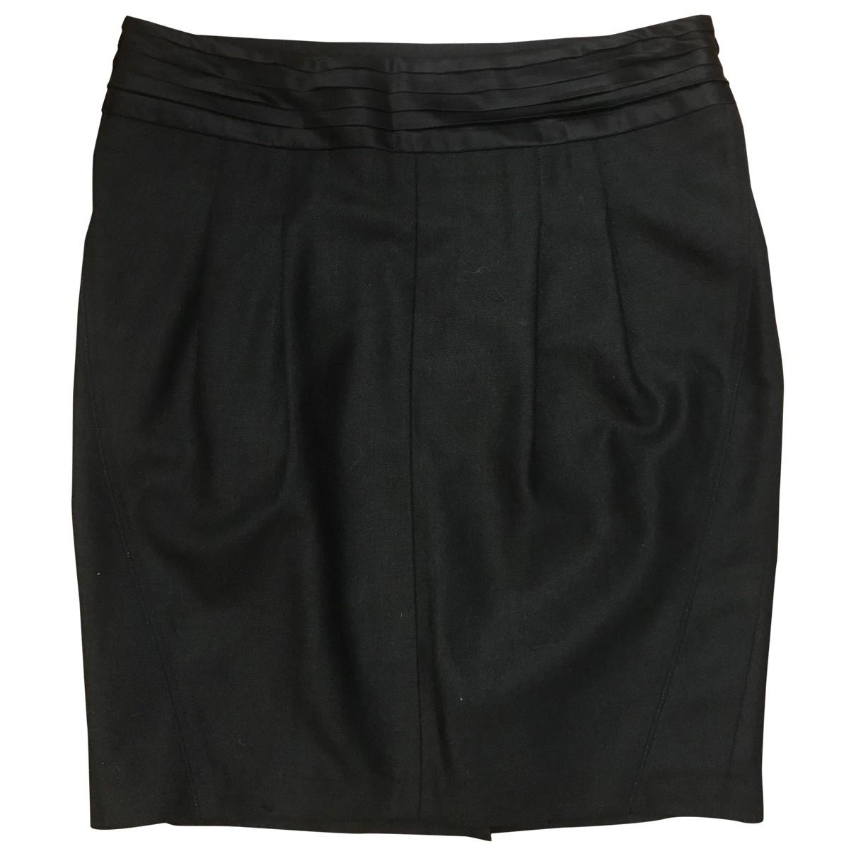 Zadig & Voltaire \N Black Wool skirt for Women 36 FR
