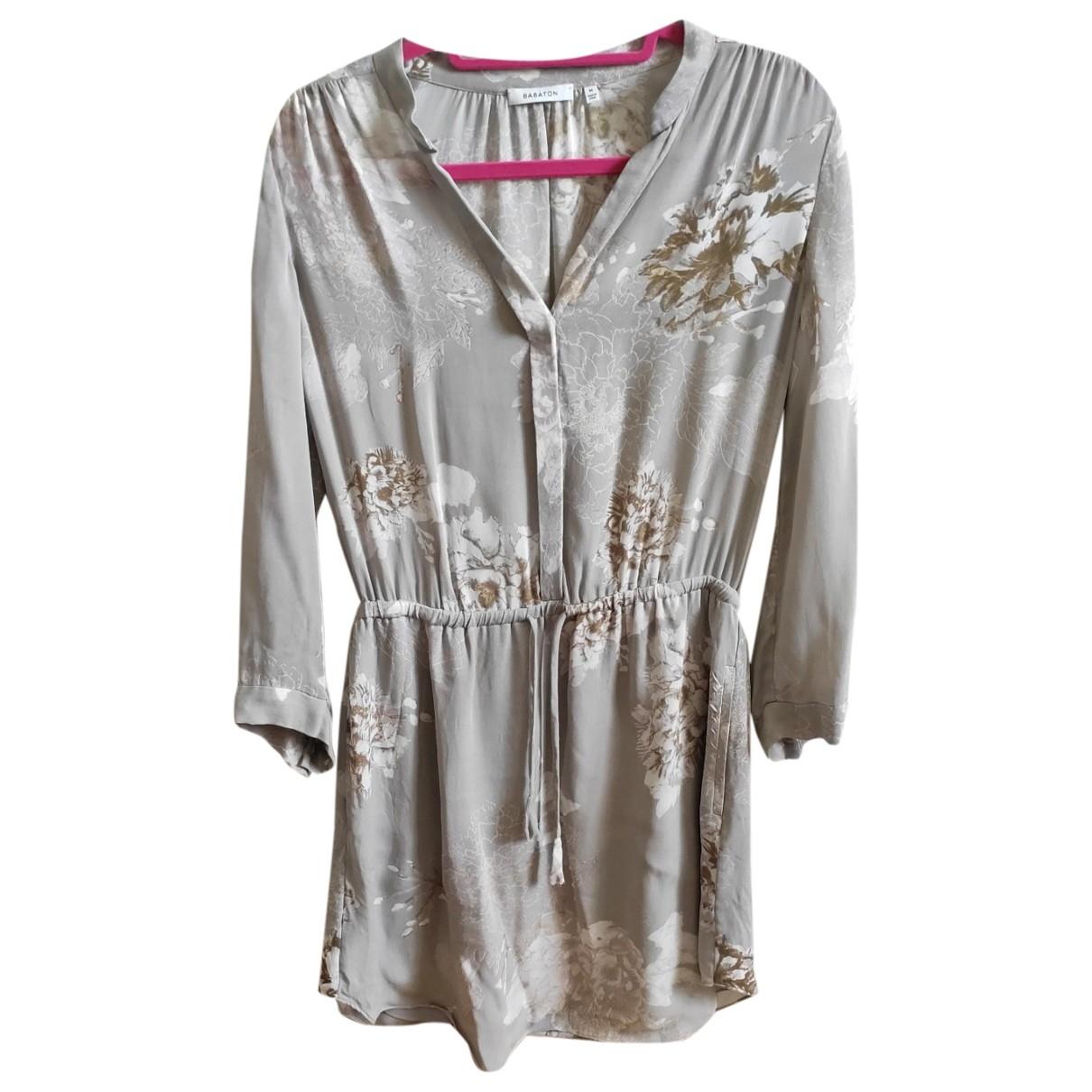 Babaton - Robe   pour femme en soie - beige