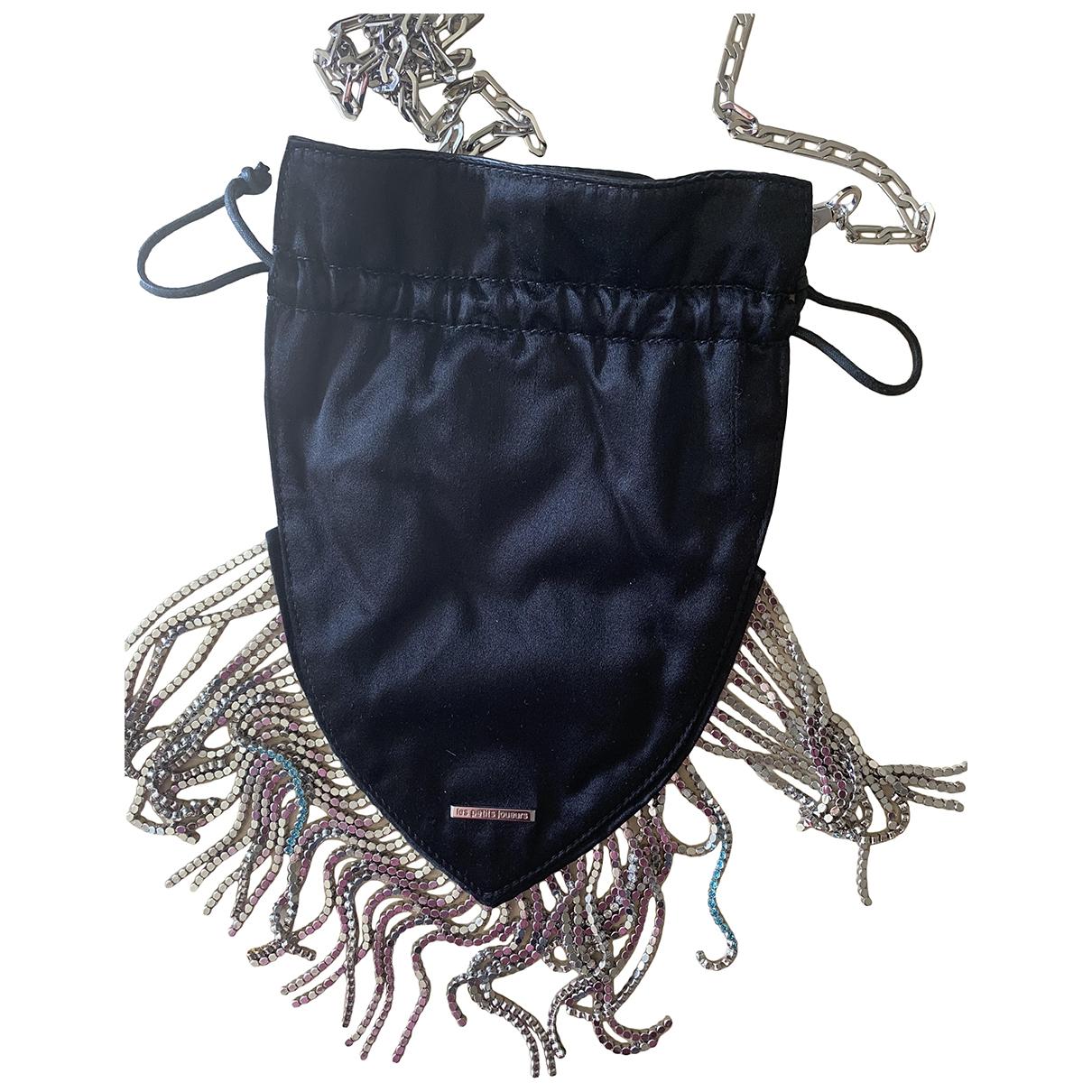 Les Petits Joueurs \N Black Cotton handbag for Women \N