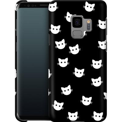 Samsung Galaxy S9 Smartphone Huelle - Cat Pattern von caseable Designs