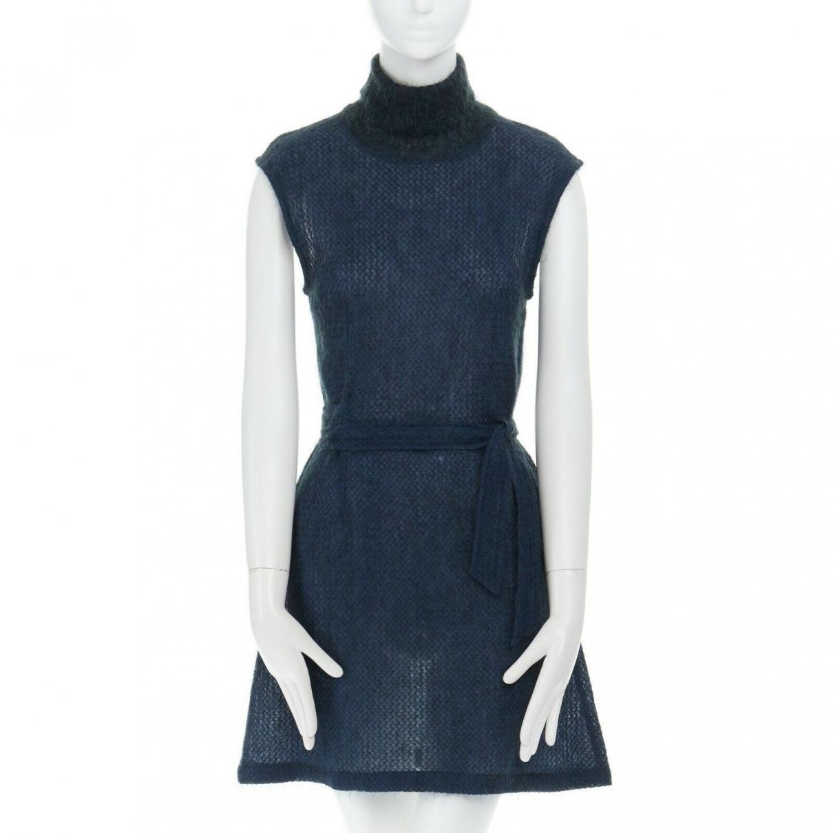 Dries Van Noten - Robe   pour femme - bleu