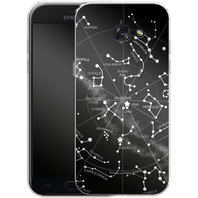 Samsung Galaxy A5 (2017) Silikon Handyhuelle - Constellations von Terry Fan