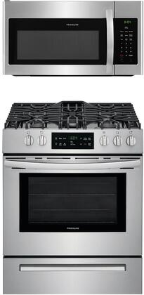 2-Piece Kitchen Appliance Package with FFGH3054US 30