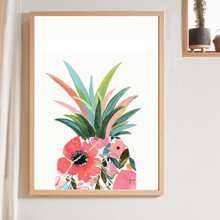 Pineapple Print Wall Painting Without Frame