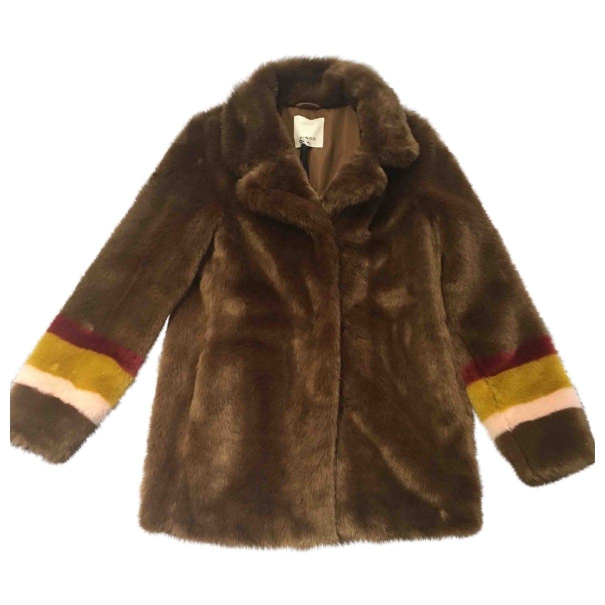 Pinko \N Brown coat for Women 42 IT