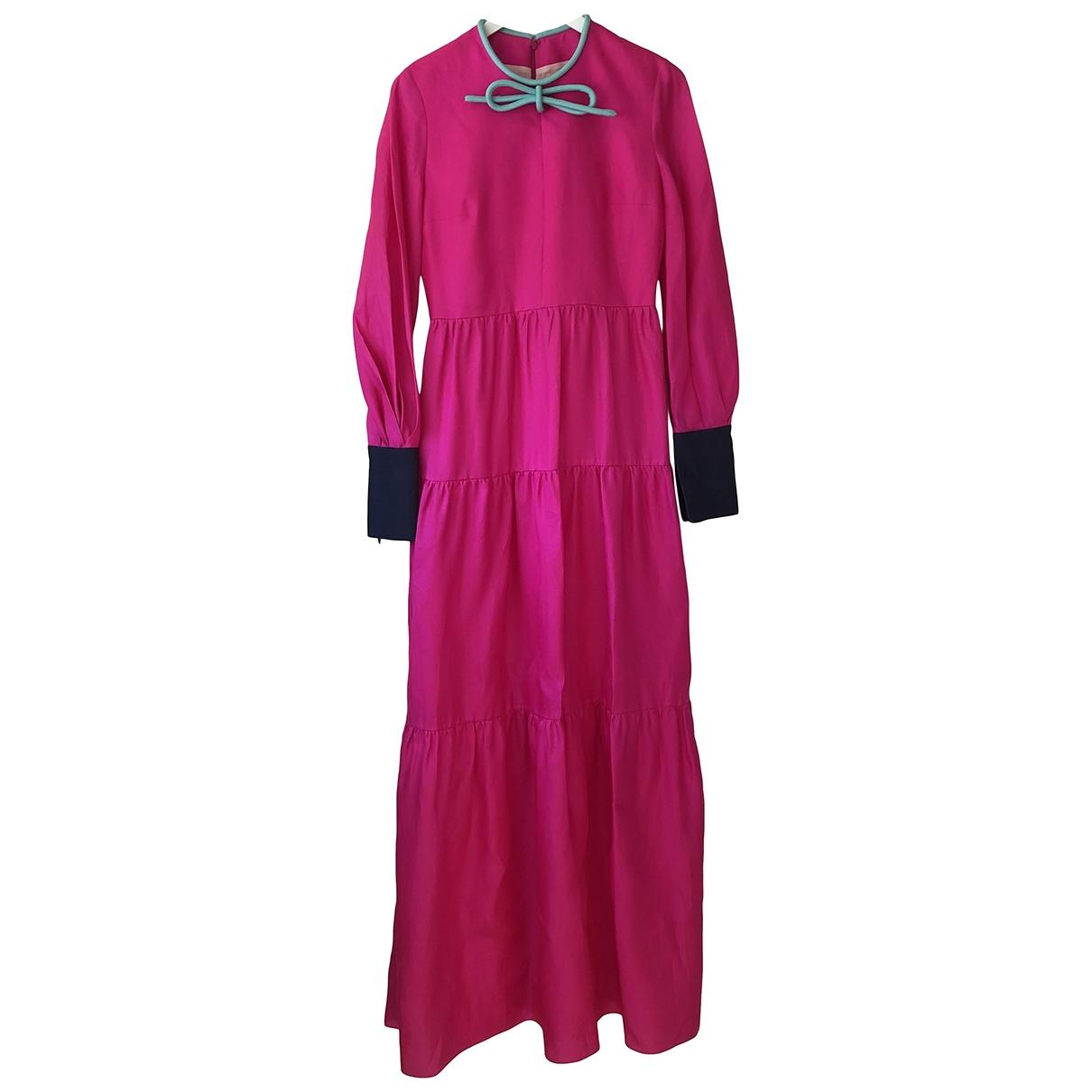 Maxi vestido de Seda Roksanda