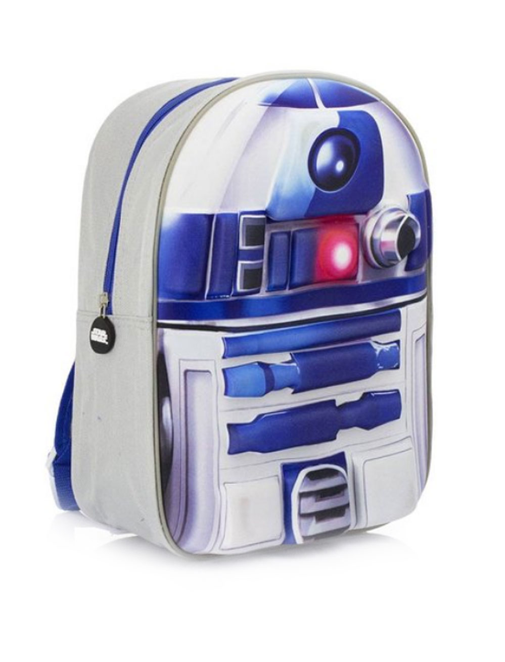 Kostuemzubehor Rucksack Star Wars R2D2 Kinder Farbe: weiss/blau