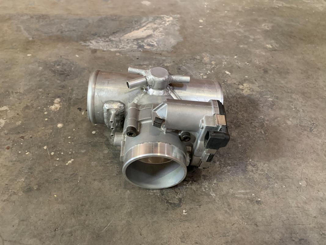 Agency Power 392999299747 Throttlebody Plenum Kit 78mm Porsche 996 Turbo - CLEARANCE