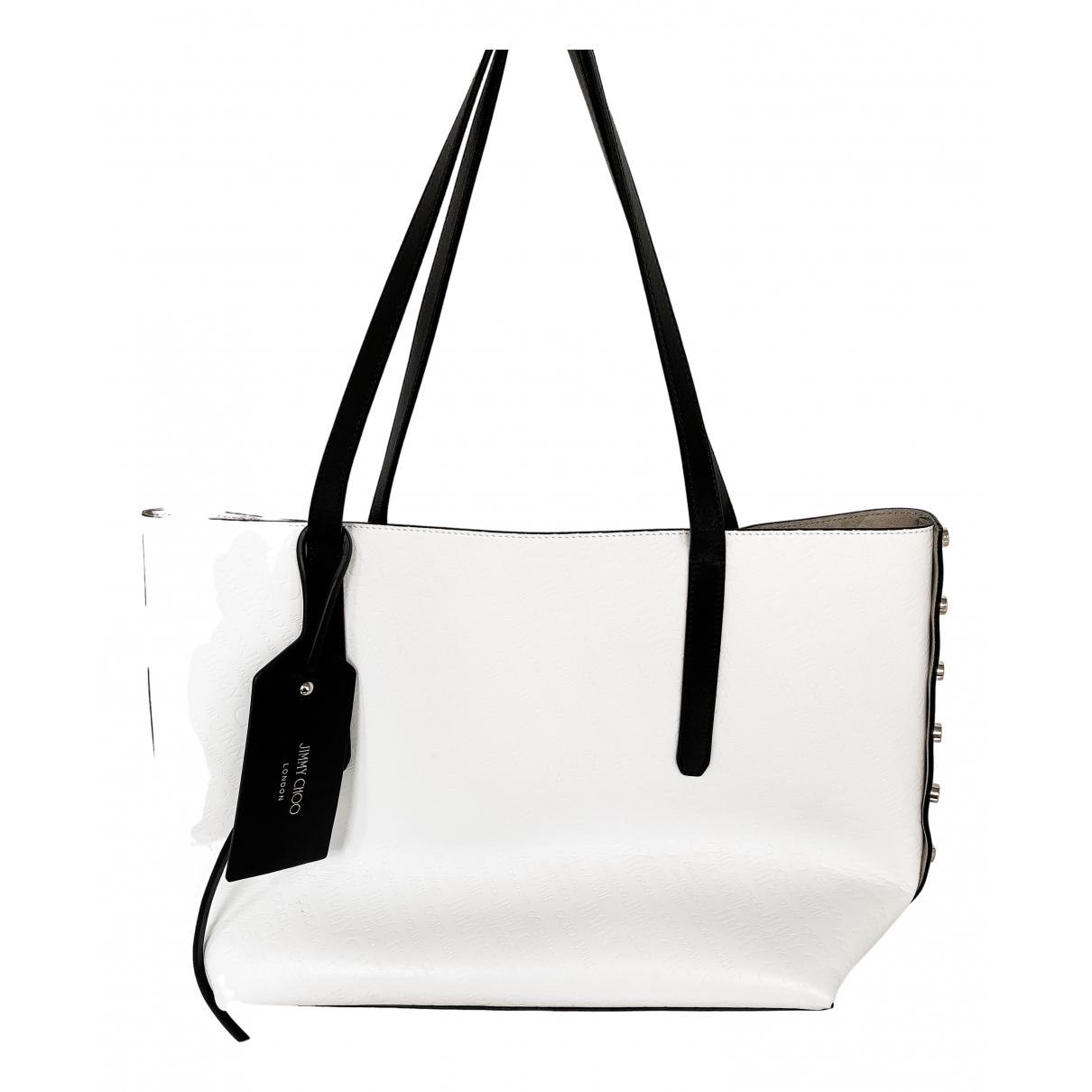 Jimmy Choo \N Handtasche in  Weiss Leder