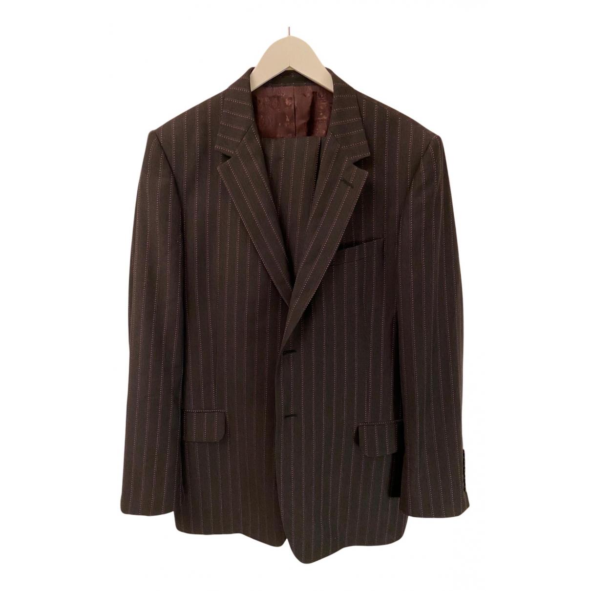 Paul Smith - Costumes   pour homme en laine - gris