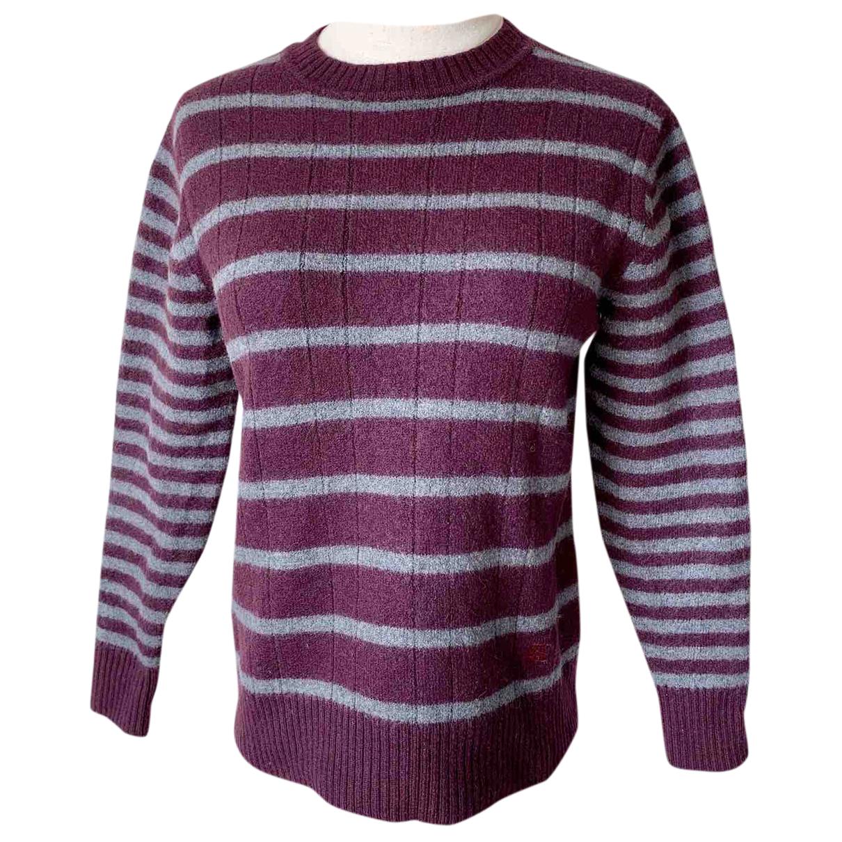 Burberry N Burgundy Wool Knitwear for Women S International