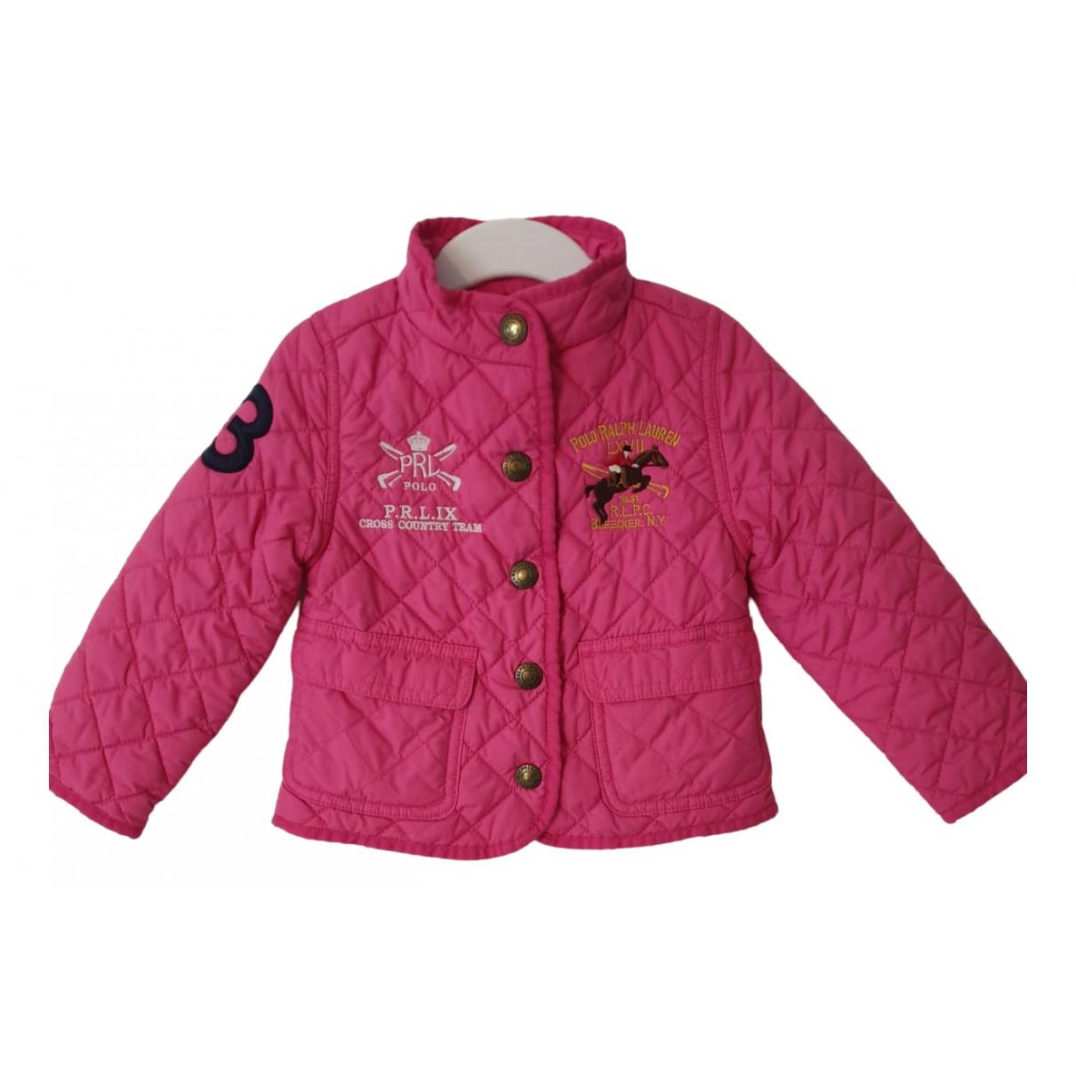 Ralph Lauren - Blousons.Manteaux   pour enfant - rose