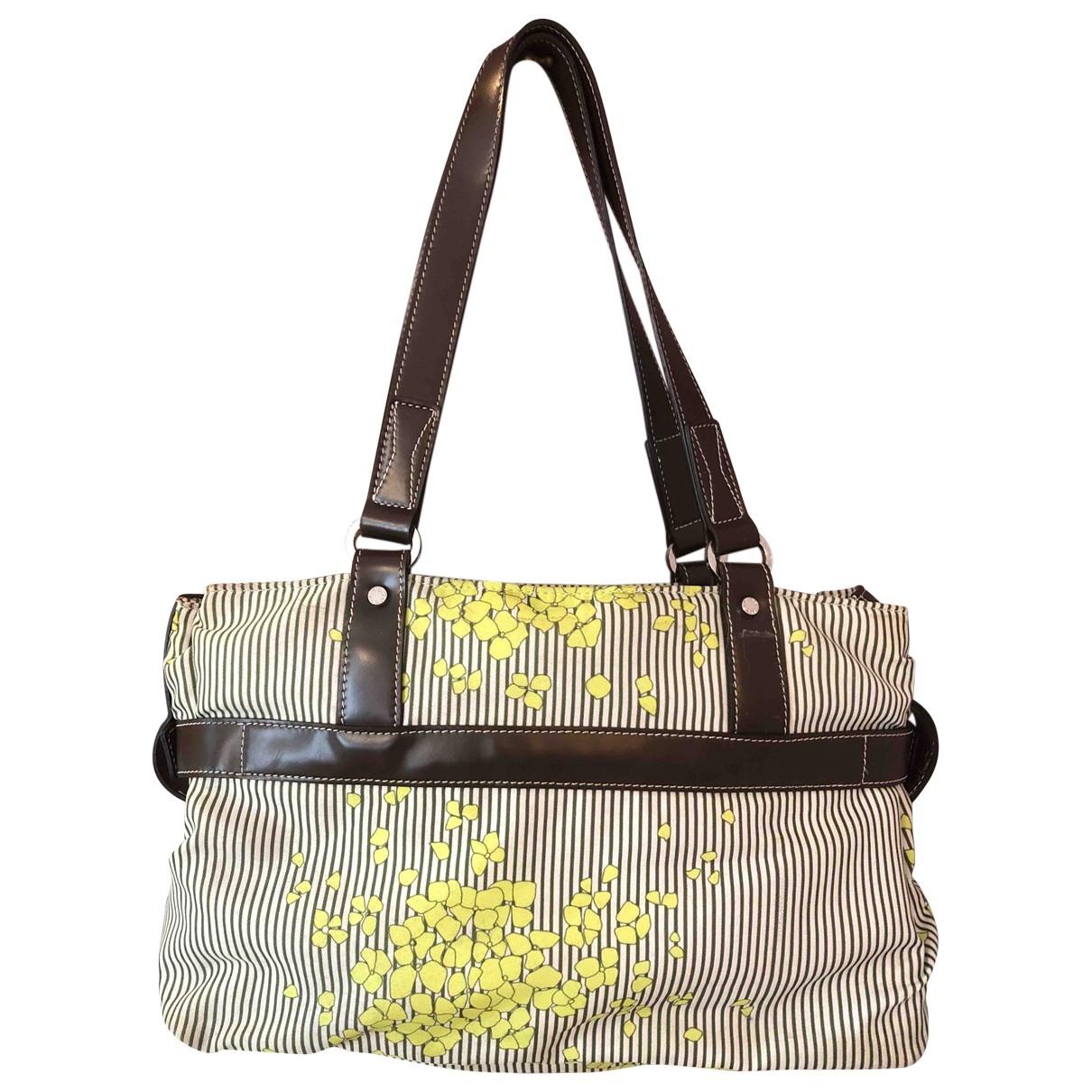 Lancel \N Handtasche in  Bunt Leinen