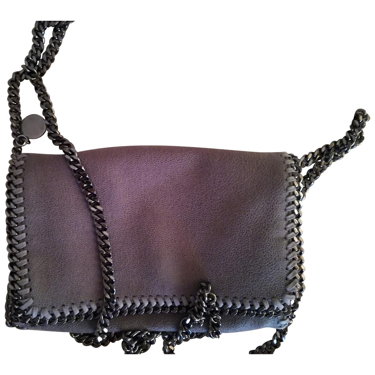Stella Mccartney - Pochette Falabella pour femme en toile - gris