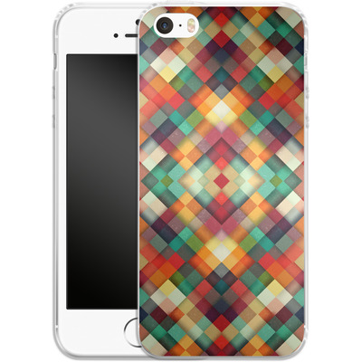 Apple iPhone SE Silikon Handyhuelle - Time Between von Danny Ivan
