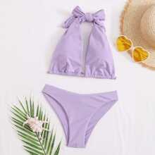 Halter Bikini Swimsuit