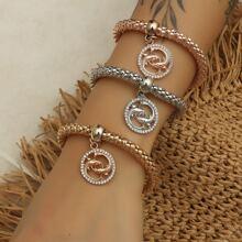 3pcs Fish Charm Bracelet