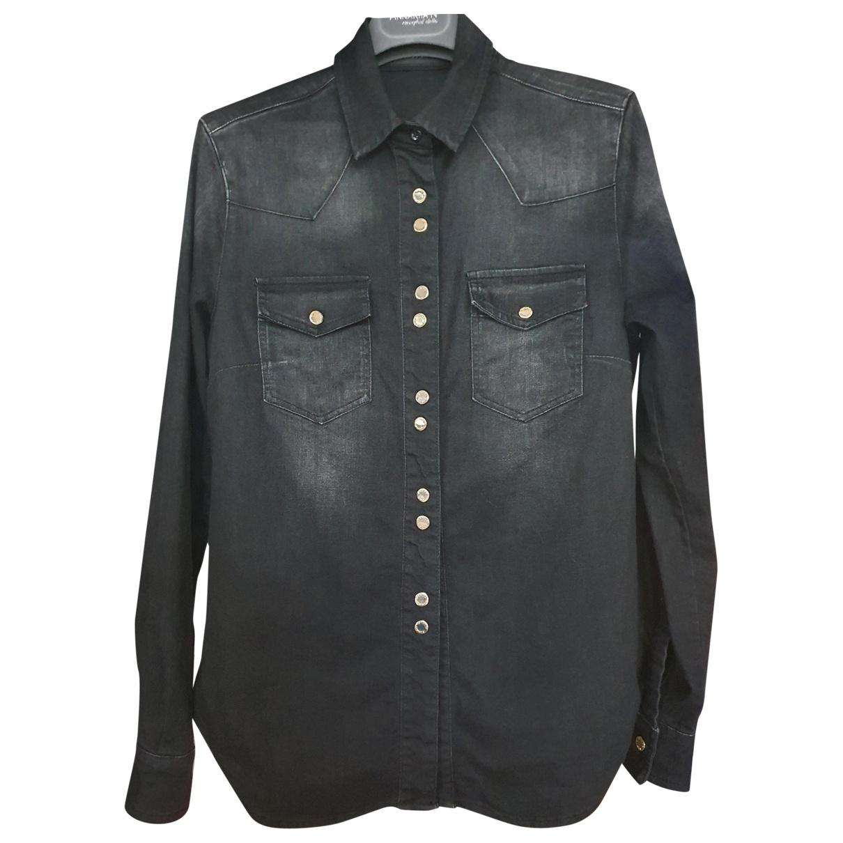 Pinko \N Black Denim - Jeans  top for Women 38 IT
