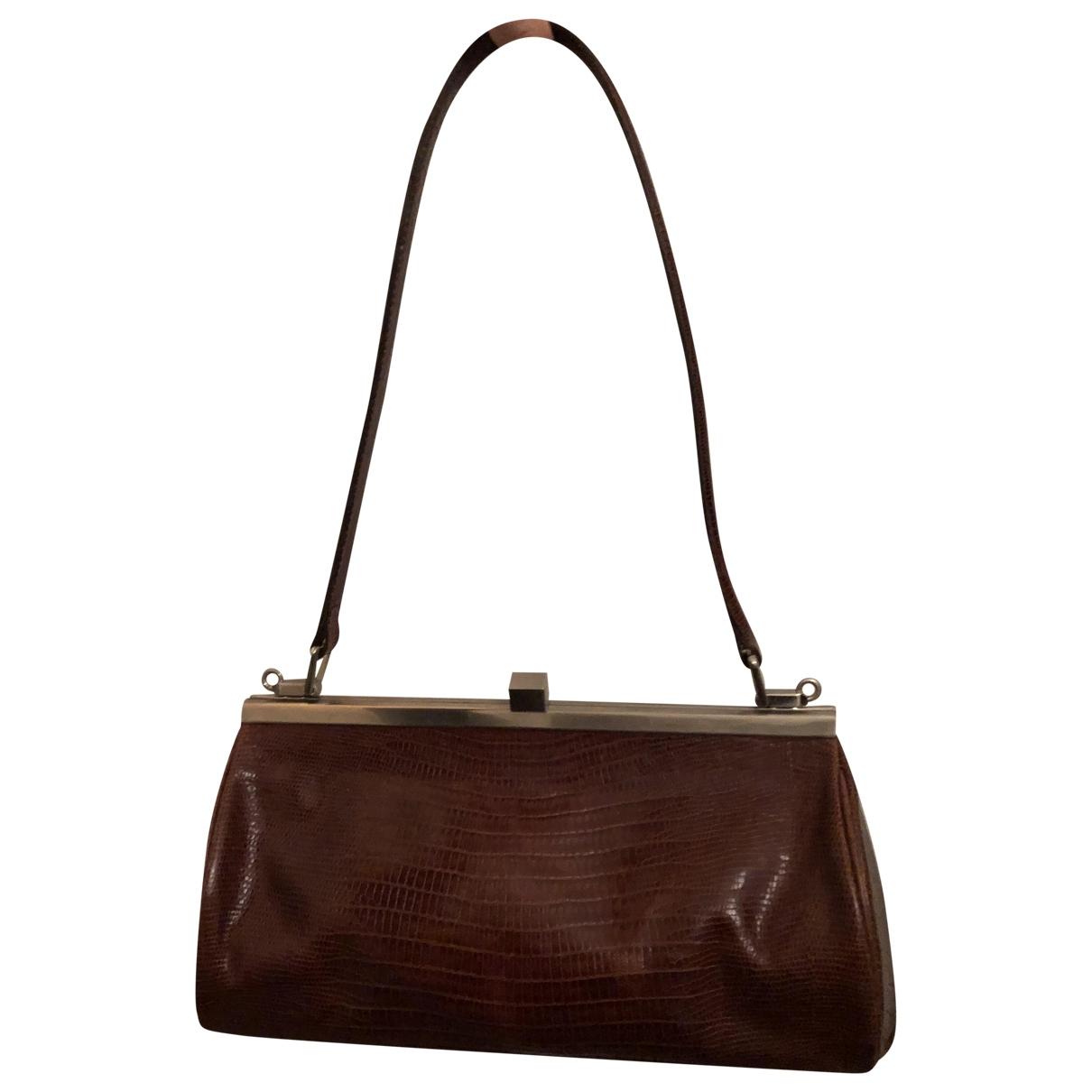 Natan \N Camel Leather handbag for Women \N