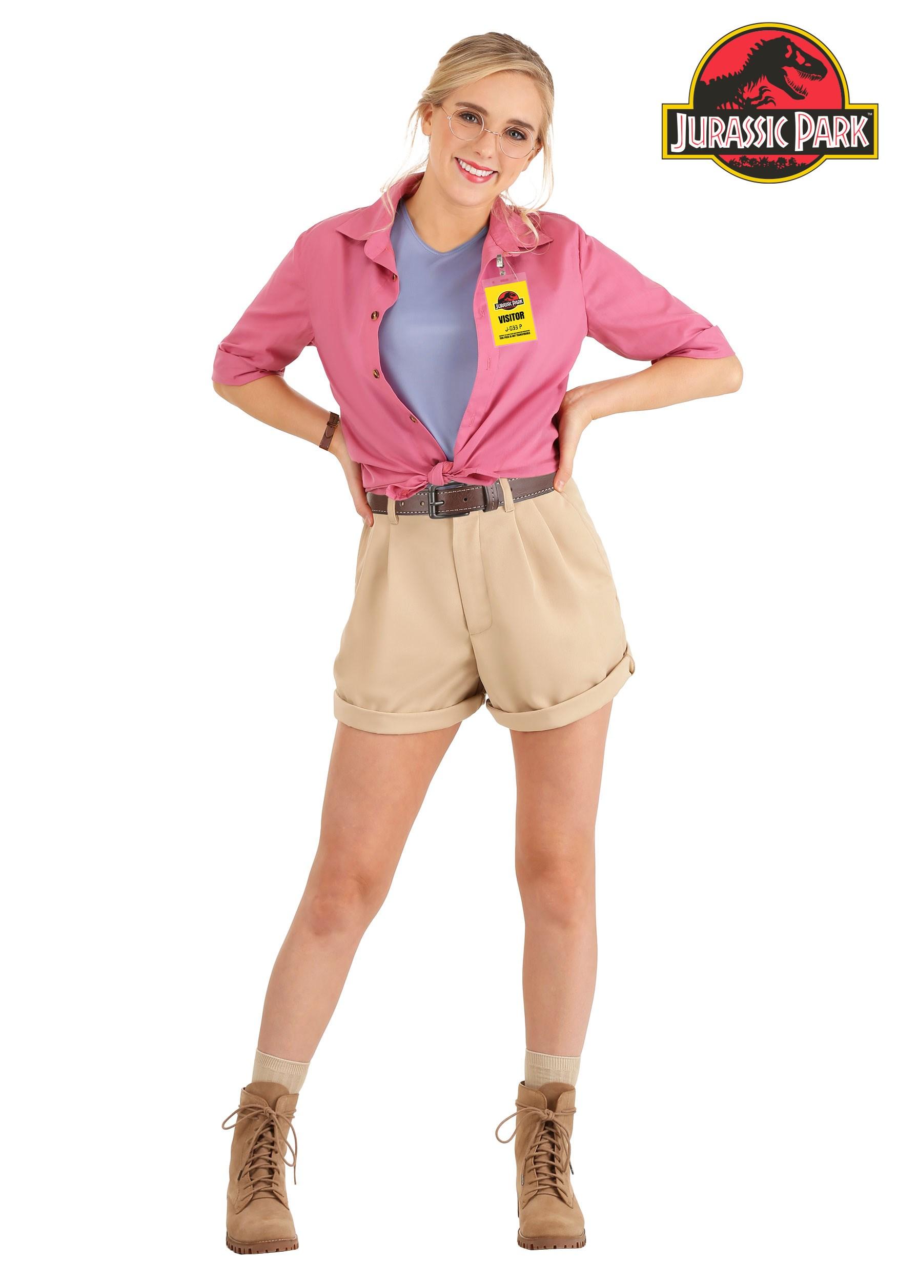 Jurassic Park Dr. Ellie Sattler Women's Costume